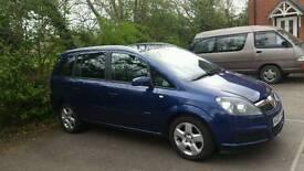 Vauxhall zafira will have full MOT
