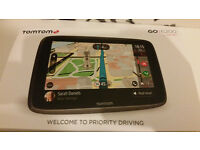 TomTom GO 6200, 6 inch Only 2 months old with receipt