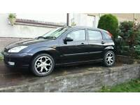Black ford focus 1.6 automatic