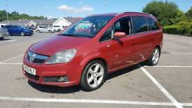 Vauxhall zafira 2006 1.9 CDTI 120