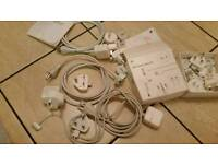 World travel adapter kit and apples cables