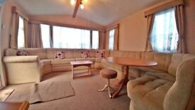 DEAL OF THE WEEK STUNNING PRE-OWNED STATIC CARAVAN FOR SALE WHITLEY BAY SITE FEES INCLUDED