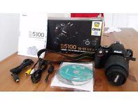 Nikon d51000 with 18-55vR kit