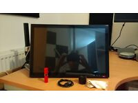 Huion GT190 with gas powered monitor arm