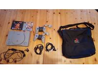Playstation 1 With Controllers and Extras!