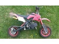 Mini moto 49cc spares or repair £30