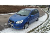 09 Chevrolet aveo 1.2 ls 5dr only 50k