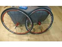 Fulcrum racing 3 road bike wheels