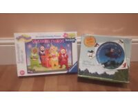 Teletubbies & Room on the broom puzzles