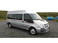 FORD TRANSIT Minibus 2.4TDCi (115ps) 350L 15 Seat Medium Roof Bus Trend