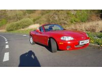 2003 MX5 GOOD CLEAN SOLID CAR FOR ITS AGE NEWLY SERVICED £1500ono