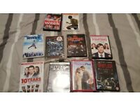 10 DVDS for just £12 or £1.50 each