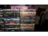 Dvd blu rays and box sets over 100 all together