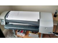 HP plotter DesignJet 111 with roll