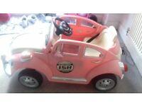 Childrens car.