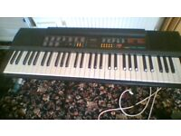 ELECTRIC KEYBOARD ON STAND