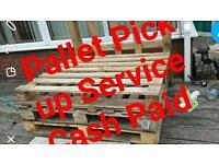 Pallet Pickup service cash paid