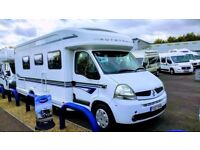 Motorhome For Hire In Littlehampton - Now Available For Holidays and Festivals