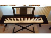 YAMAHA NP11 KEYBOARD WITH Stand - Carry Bag