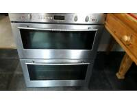 Neff electric integrated double oven