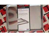 Tramontina Half Size Aluminium Baking Sheets (2 pc)