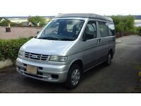 Ford Freda 4 berth camper van with elevating roof, side tent,winter cover and service manual.
