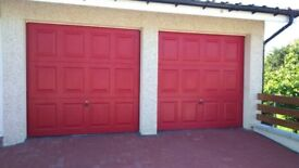 Garage doors £200 each. Immaculate condition - only a few years old.