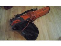 Flymo leaf vac and blower excellent working condition