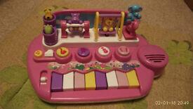 Dancing animal piano
