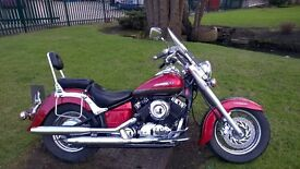 BEAUTIFUL YAMAHA DRAG STAR CLASSIC 8394 miles only, 1 Owner From New