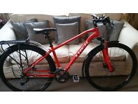 Brand New and unused Trek 8.4 DS Hybrid Bike, 17.5 in frame complete with mudguards and rack £420ono
