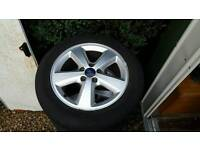 Ford focus mk2 Alloy wheels