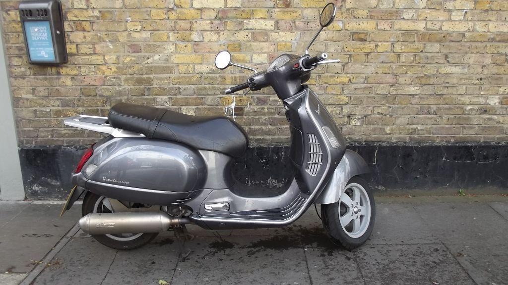 vespa gt 200 scooter b in mile end london gumtree. Black Bedroom Furniture Sets. Home Design Ideas