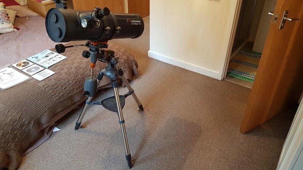 Celestron astromaster eq telescope in exellent condition in