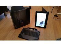 Asus transformer book with leather case