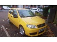 Very Cheap 2004 Yellow Fiat Punto