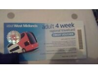 4 week west midland travel voucher in date