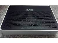 Wireless Router Modem Zyxel Broadband Ultra Fast upto 300MB per Second!