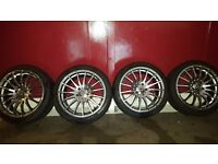 18 inch alloys for sale