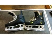 Graf Supra 704 CP93 Top Light Ice Hockey Skates In Size 9.5