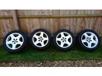Vw audi alloy wheels 16 inch 5x100