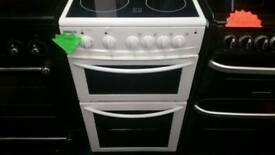 Beko 50cm wide electric cooker for sale. Free local delivery
