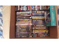 65 dvds mixed genre's bargain