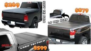 GRIZZLY TONNO COVERS!!! Tri-fold Tonneau Hard and Soft !! MEGA SALE $269 ONLY !!!