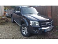 2007 2.5 Black Ford Thunder Ranger, immaculate inside and out , full service history £7,500 ono