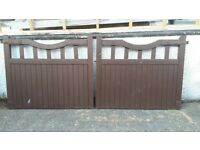 Garden gates for sale..Two wooden Garden Gates for sale..1500 wide by 1270 height.t