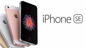 MINT IPHONE SE 64GB SPACE GREY UNLOCKED 3 MONTHS WARRANTY $249.99