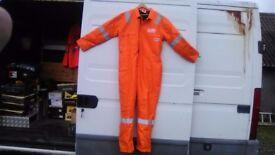 Pioner flame retard hi viz padded boiler suit size 48 chest long body £20 collect