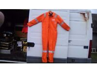 Pioner flame retard hi viz padded boiler suit size 48 chest long body £20 collect