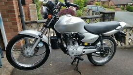Honda cg125 low miles full mot
